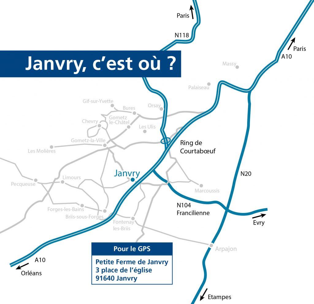 Janvry carte d'accès