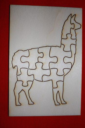 Lama puzzle